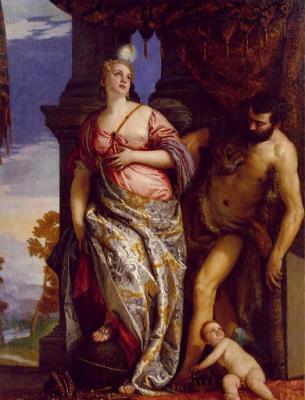 Paolo Veronese: Alegoría de la Sabiduría y la Fuerza. The Frick Collection.