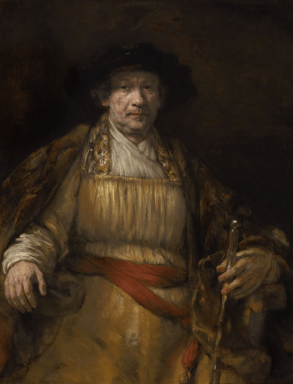 Rembrandt van Rijn: Autorretrato.The Frick Collection.