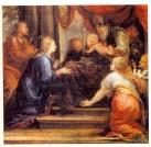 Francisco Rizi: Presentación en el Templo. ca. 1665. Museo del Prado. Procedente del retablo de la Natividad del convento de Nuestra Señora de los Ángeles de Madrid.