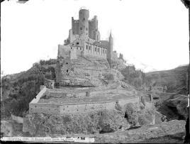 J. Laurent: Vista del Alcázar de Segovia. Fondo IPHE.