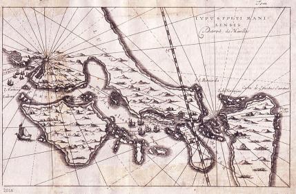 Mapa de Filipinas. Siglo XIX.
