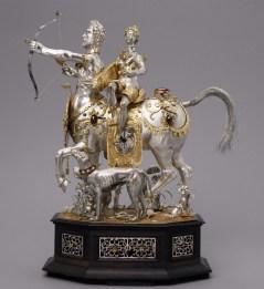 Hans Jakob I. Bachmann: Automatón con Diana y el Centauro, 1602-1606. Photos ©: Kunsthistorisches Museum