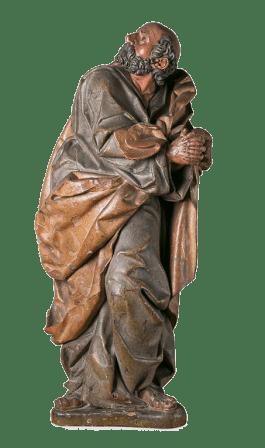 Sebastián Ducete: San Pedro en lágrimas. Barcelona, Museo Marès.