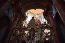 Detalle del tabernáculo. Cartuja del Paular
