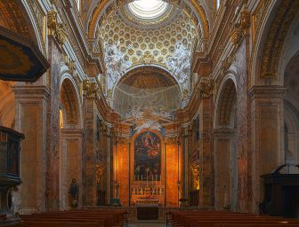 Interior de San Luis de los Franceses. Foto: Wikimedia Commons.
