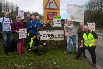 No fracking way Hovingham day 1