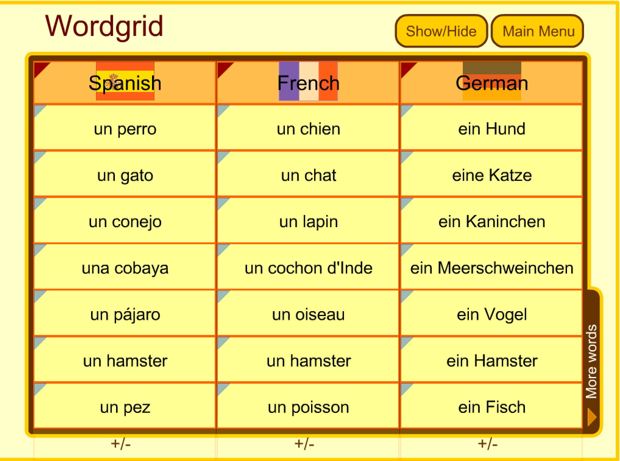 Comparing Languages