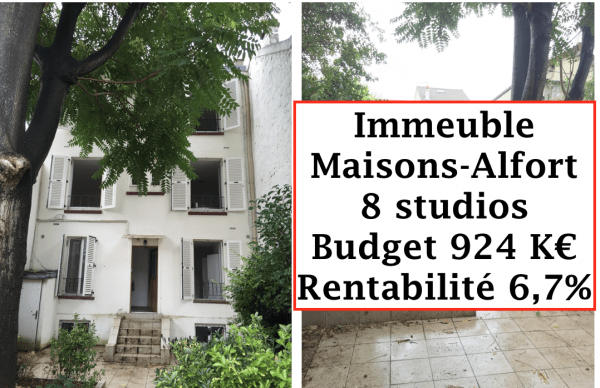 Immeuble Maisons-Alfort
