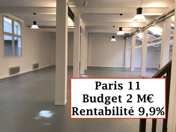 Bureaux Paris 11