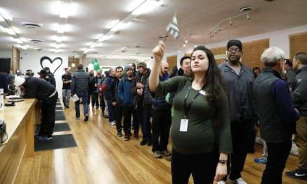 Lineups as California legalizes recreational marijuana sales on New Year's Day