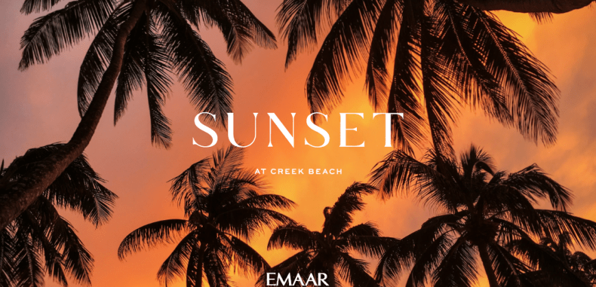 SUNSET at Creek Beach