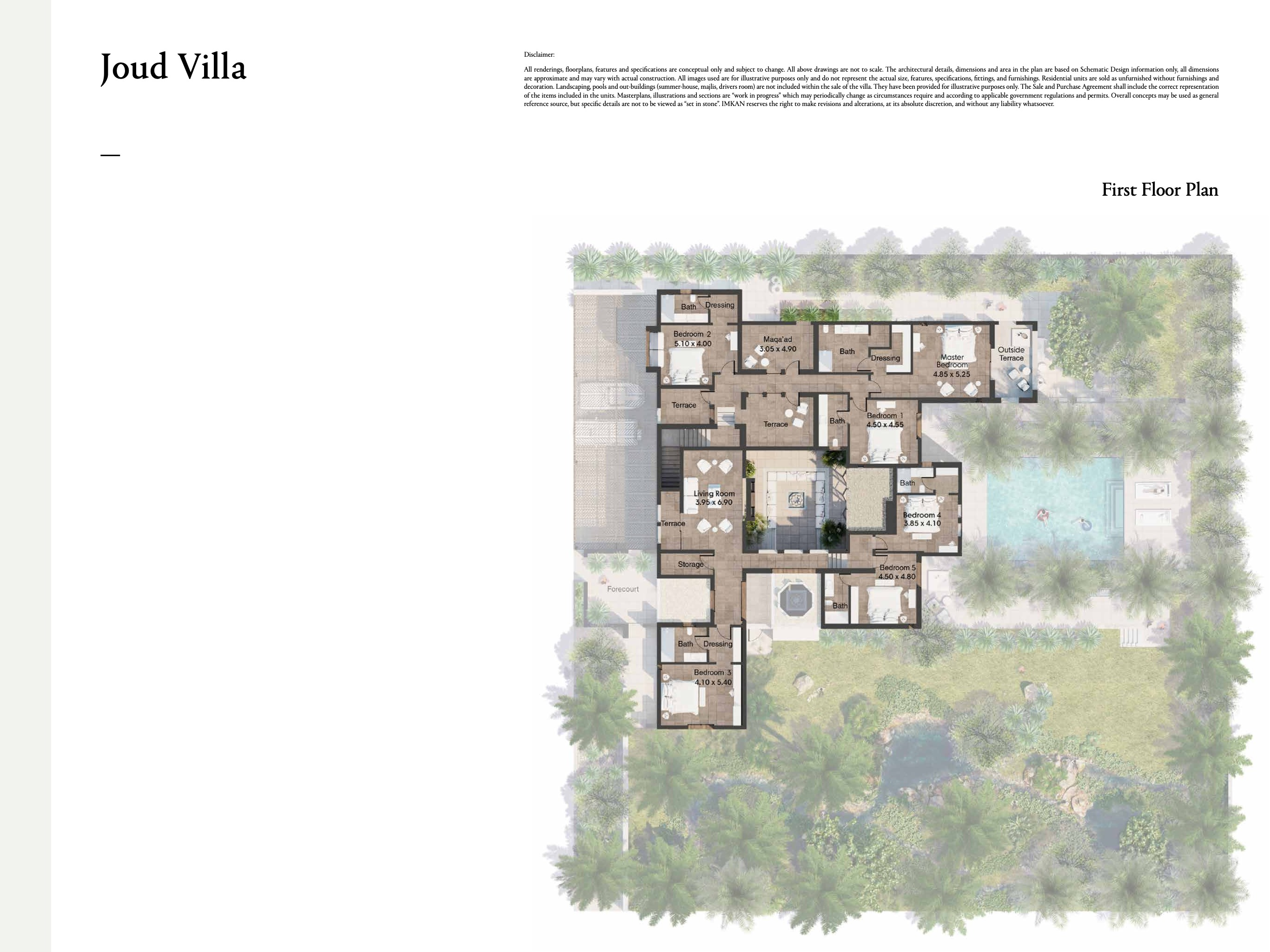 Joud Villas Al Jurf Gardens