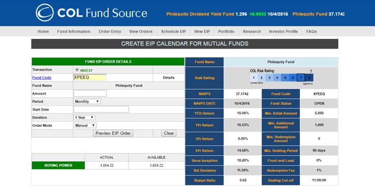 col fund source