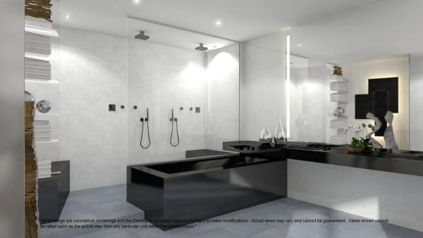 Porsche design tower penthouse 18555 collins ave for Bathroom remodeling miami