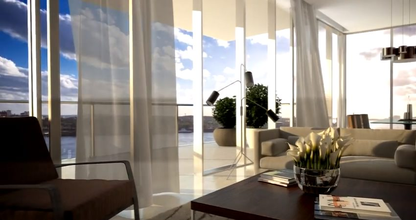 Marea Miami Beach Living Room
