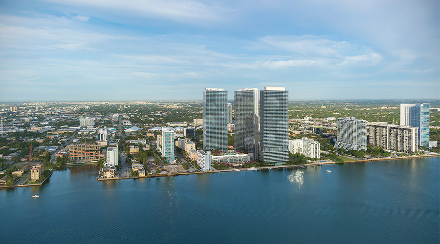 Bay Harbor Drive And  St Miami Beach
