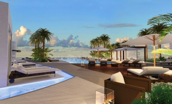 Paramount fort lauderdale beach for Pool design fort lauderdale