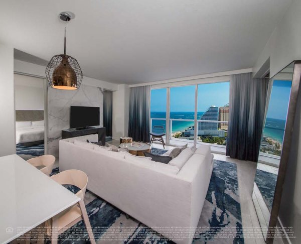 W Fort Lauderdale Living 1