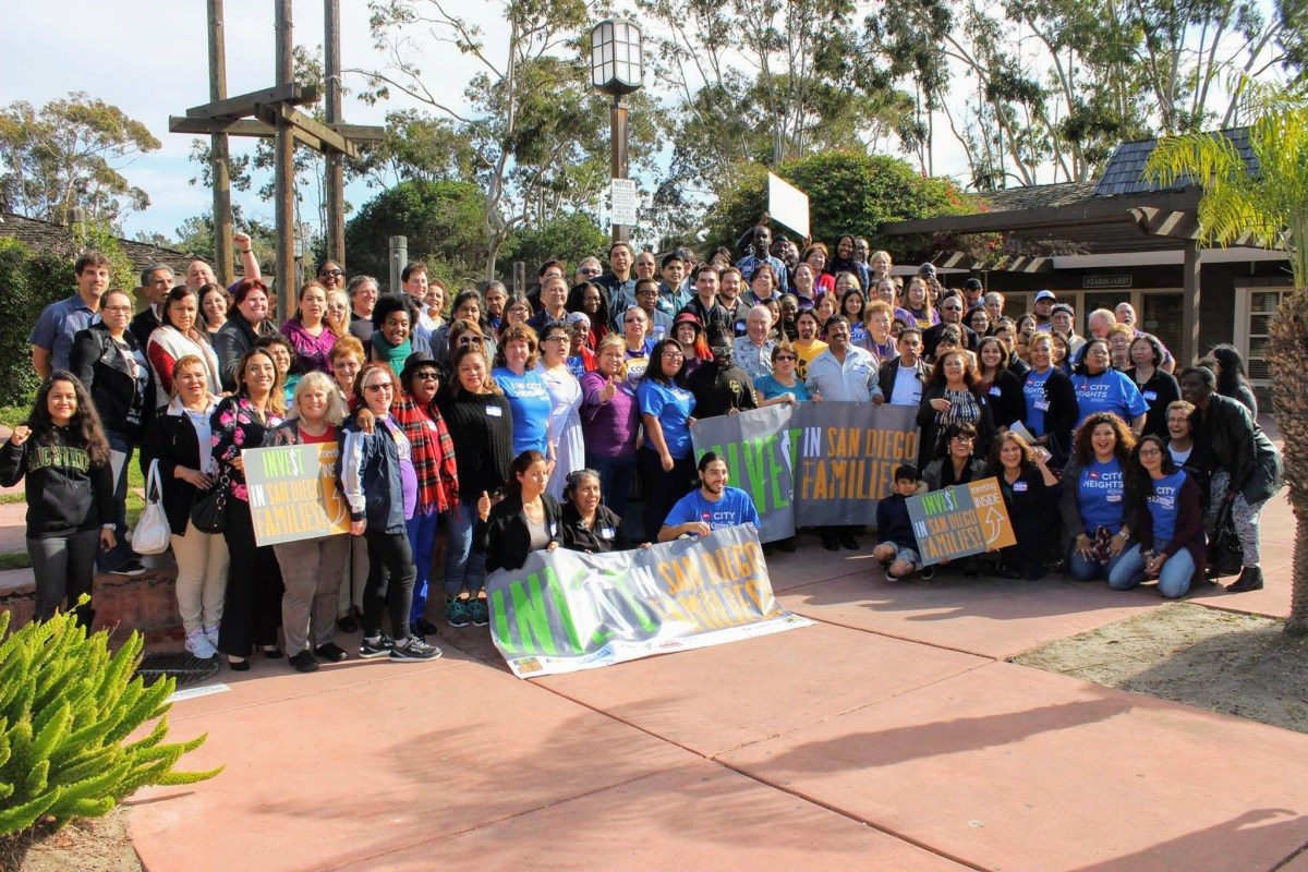 Invest in San Diego Families Coalition Group Photo