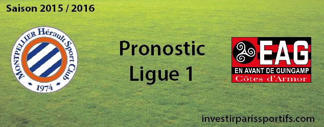 Pari n°36 – Montpellier / Guingamp – Ligue 1