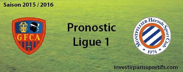 Pari n°50 – Ajaccio / Monptellier – Ligue 1