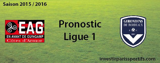 Pari n°56 – Guingamp / Bordeaux – Ligue 1