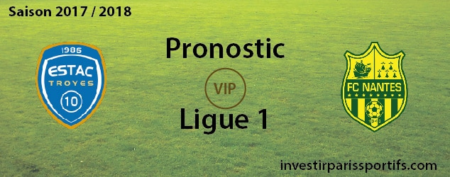 Pronostic investirparissportifs.com - Investir paris sportifs Troyes Nantes