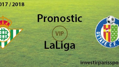 Pronostic investirparissportifs.com - Investir paris sportifs Betis Getafe