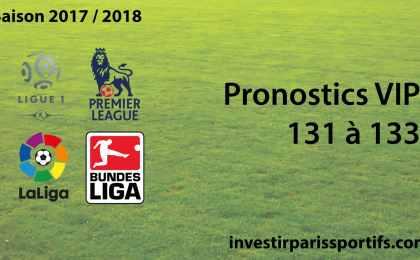Pronostic VIP 131 à 133 - investirparissportifs.com