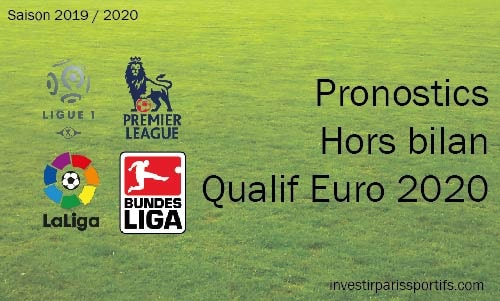 Pronostic Hors Bilan – Qualification Euro 2020
