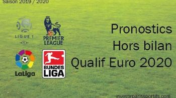 Pronostics euro 2020, prono euro 2020, paris euro 2020, qualification euro 2020