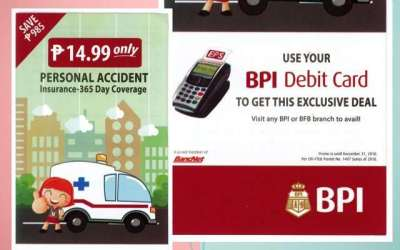 P14.99 BPI/MS Personal Accident Insurance – 365 Day Coverage