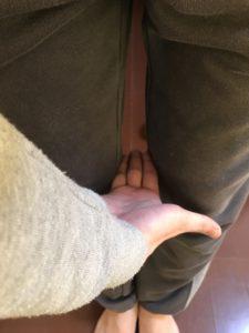 先月の脚の状態