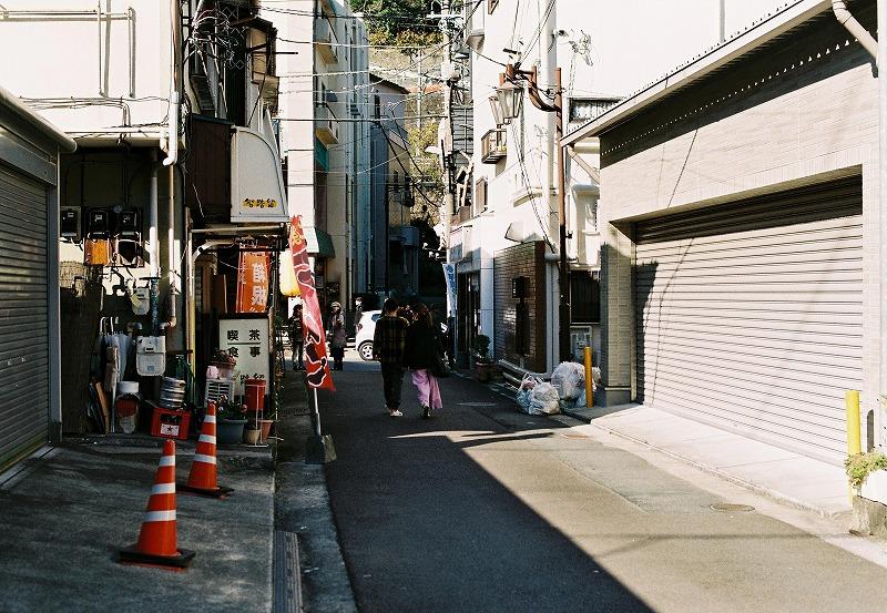 箱根の町並み