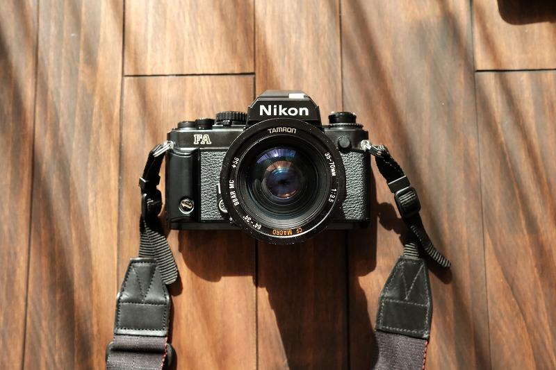 Nikonの一眼レフフィルムカメラ