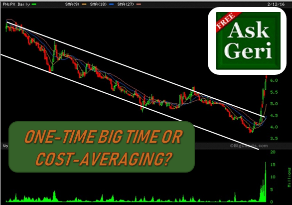 #AskGeri: One Time Investment or Cost-Averaging, Which is Better?