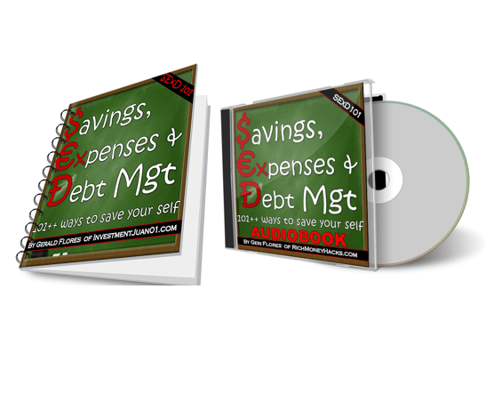 savings expenses and debt management audio book