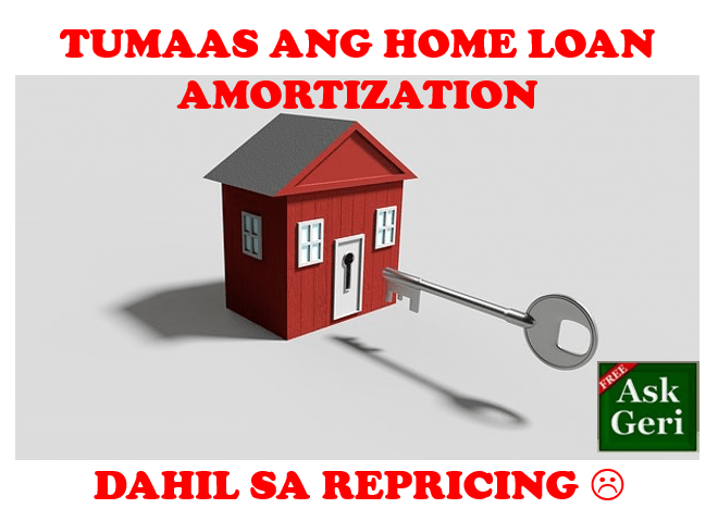 home loan repricing