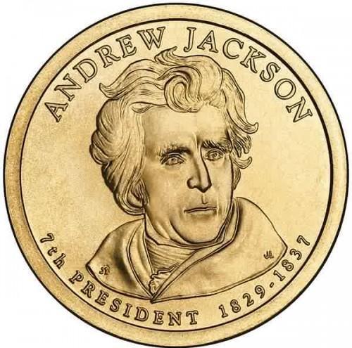7e Amerikaanse president Andrew Jackson
