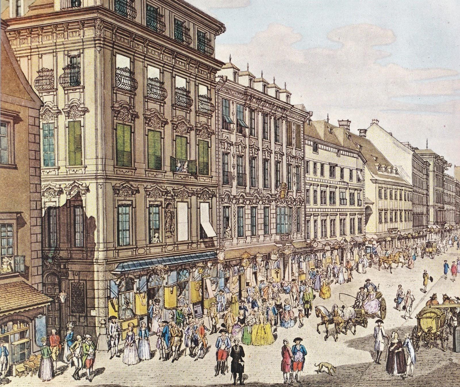 Wenen 1800 jaar - gravure