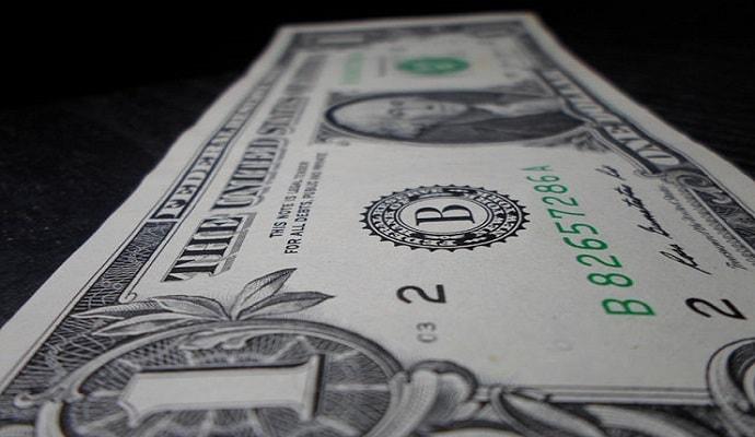 Dollar Cost Averaging One Dollar Bill