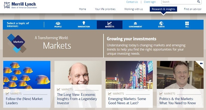 Merrill Lynch Website