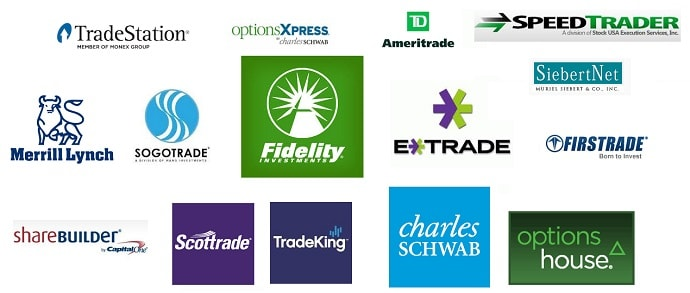 List of online stock trading platforms in usa with company for Option house com