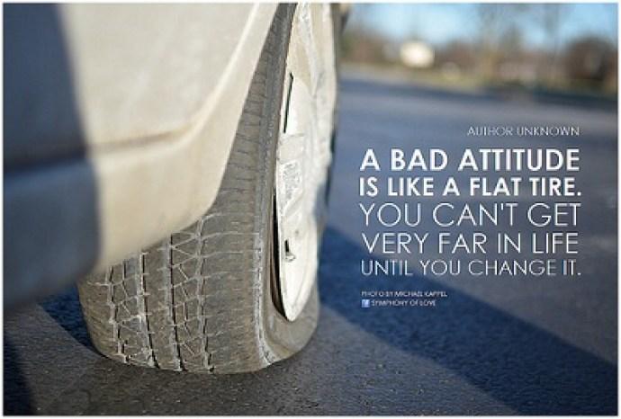 matter of attitude