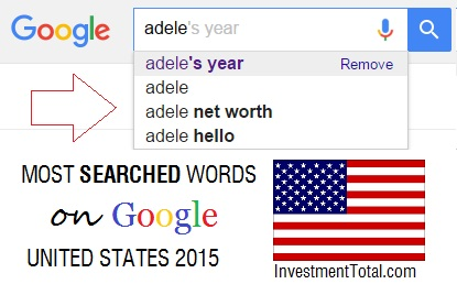 adele most searched name on google usa 2015
