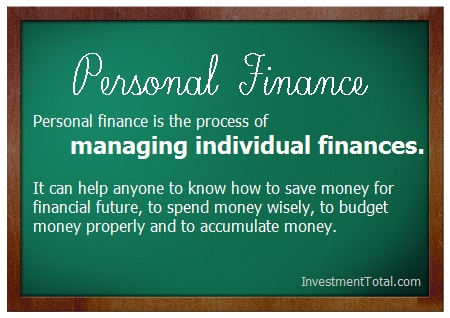 personal finance meaning and definition
