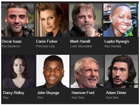 star wars cast favorite