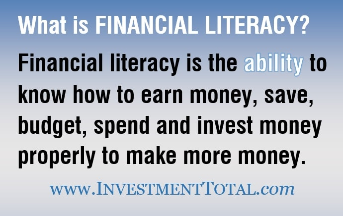 what is financial literacy-min