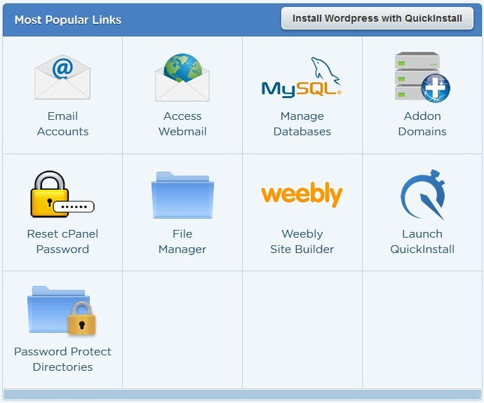 install wordpress in hostgator via quickinstall_mini