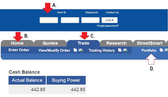 open col financial account portfolio
